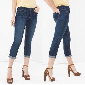 White House Black Market • Slim Crop Jean Size 6
